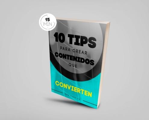 eBook: 10 tips para crear contenidos que convierten